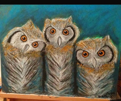 """3 Owls"" by Jorge Vales."